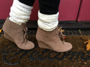 Booties: Suede Neutral Dolce Vita $49.90, regularly $110